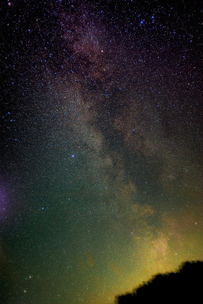 The Milky way above Sudelfeld